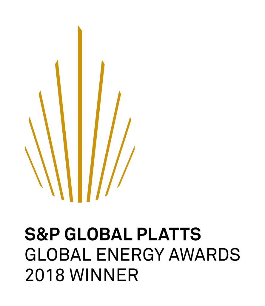 S+P Global Platts Global Energy Award